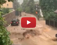 Meteo Cronaca DIRETTA: TRENTINO ALTO ADIGE, improvvisa ALLUVIONE travolge TUTTO in provincia di BOLZANO. Il VIDEO