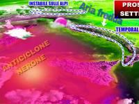 METEO: questa SETTIMANA dall'INVASIONE FREDDA all'Anticiclone NERONE pronto ad INFIAMMARE l'ITALIA