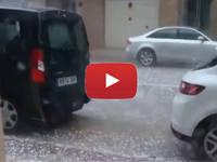 Meteo Cronaca DIRETTA: SPAGNA, violenta GRANDINATA e VENTI da URAGANO mettono KO la città di BILBAO. Il VIDEO