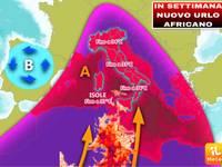 Meteo: TEMPERATURE, torna l'URLO AFRICANO, fino a 42°C in Sicilia, 36°C a Roma, ESTATE che si tinge d'AFRICA