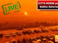 METEO DIRETTA: SABBIA dal SAHARA IMMINENTE, ECCO le città che si tingeranno di ROSSO tra pochi MINUTI