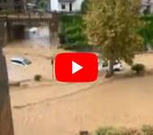 Meteo CRONACA DIRETTA VIDEO: SICILIA, Doppia ALLUVIONE LAMPO, FRANE e FIUMI invadono le strade nel Messinese