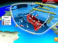 METEO: ESTATE 2018 CONFUSA, WEEKEND INVASO da GRANDINE e BORA, poi il tempo NON rasserena per giorni