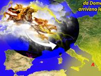 METEO » violenti temporali in arrivo al Nord, da Domenica 29 arrivano le VALCHIRIE [VIDEO]