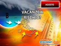 Meteo AGOSTO: CATTIVE NOTIZIE con l'ULTIMO AGGIORNAMENTO, a RISCHIO le VACANZE degli ITALIANI. Vi diciamo i Motivi