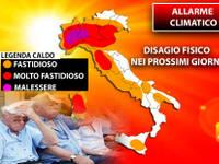Meteo: Allarme Climatico per Disagio Fisico nei Prossimi Giorni. I Rischi e come prevenire i Colpi di Calore