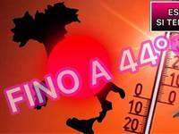 Meteo: ESTATE 2019, CALDO AFOSO a 44°C per LUNGHI GIORNI, con PAUSE di GRANDINE VIOLENTA. Ecco le CONFERME