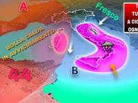Meteo: ITALIA BOMBARDATA da TEMPORALI a CICLO CONTINUO, ecco le zone più colpite da Venerdì a Domenica