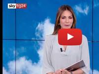 Meteo DIRETTA VIDEO SKY-Tg24: Sara Brusco, meteo molto instabile, mercoledì nuova perturbazione