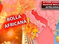 Meteo: a fine Luglio Nuova bolla africana, 10 gradi in più in 10 giorni, Prospettive Bollenti. Ecco Dove