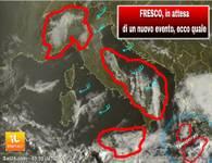METEO CRONACA DIRETTA: clima più frizzante sull'Italia. Ma ci sarà un NUOVO evento. Ecco cosa accadrà