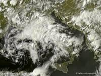 METEO: ULTIMA TEMPESTA di Maggio vista dal satellite