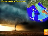 METEO, ancora tanta pioggia e Autunno col Ciclone MEDEA!
