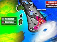 Meteo: da Domenica 21 Ottobre DOPPIA SBERLA invernale all'Italia, FREDDO e MALTEMPO