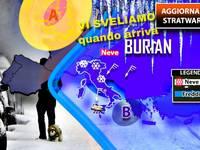 METEO: PAURA per lo STRATWARMING e le CONSEGUENZE del BURIAN in Italia; vi SVELIAMO quando arriva