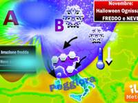Meteo: Novembre, ad Halloween e per il PONTE dei SANTI FREDDO e NEVE. Dettagli