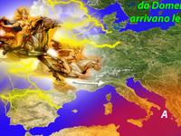 METEO | ciclone VALCHIRIE sull'Italia, da Domenica 29 temporali furiosi!