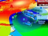 METEO: WEEKEND, CLIMA TROPICALE con NUOVA DOCCIA FRESCA Sabato 18 e Domenica 19 Agosto