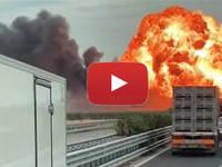 Cronaca DIRETTA: PUGLIA, ESPLODE un AUTOCISTERNA sulla FOGGIA-CANDELA. Il VIDEO è IMPRESSIONANTE