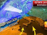 Meteo: ESTATE 2019 in RITARDO, ma SENZA CALDO ECCESSIVO. Ecco la TENDENZA aggiornata