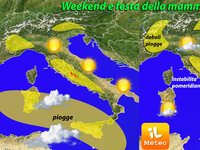 METEO - Un weekend baciato dal Sole, ma non dappertutto! [VIDEO]