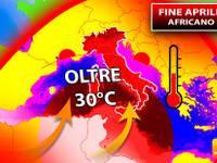 Meteo: APRILE, Fine Mese con oltre 30°C! CONFERMATO ASSALTO AFRICANO. Ecco QUALI saranno le ZONE più ROVENTI