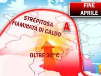 Meteo: APRILE finirà con oltre 30°C! Ecco le REGIONI interessate da una STREPITOSA FIAMMATA di calore