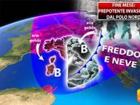 Meteo > MARZO, a fine mese PREPOTENTE INVASIONE dal POLO NORD, PROLUNGATO INVERNO con FREDDO e NEVE, ecco DOVE