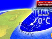 Meteo: TEMPERATURE, gelido SCOSSONE RUSSO-SIBERIANO pronto all'impatto, giù di 15°C. Vediamo DOVE e QUANDO