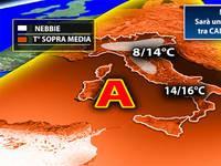 Meteo: sarà un'IMMACOLATA tra CALDO e NEBBIA. Ultimi AGGIORNAMENTI