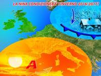 Meteo ~ CLIMA italia, Autunno caldo e Inverno gelido e nevoso, cosa dice LA NINA?