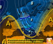 NATALE: le previsioni METEO per Dicembre. Alta pressione o GELO e NEVE siberiani?