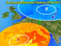METEO: effetto NINA sull'Italia, come saranno il prossimo Autunno e Inverno?
