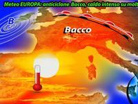Meteo EUROPA: caldo INTENSO con l'anticiclone BACCO su Spagna e Francia, ESTATE alla RISCOSSA!