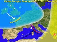 Meteo - Primavera STRAVOLTA sull'EUROPA, tra GELO TARDIVO e NEVE! Clima pazzo