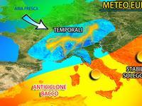 Meteo » EUROPA nella MORSA dell'anticiclone BACCO, gran CALDO su MOLTI stati! TEMPORALI in AGGUATO