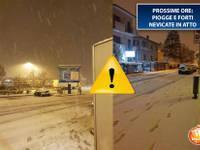 Meteo CRONACA DIRETTA: FORTI NEVICATE in atto su Emilia Romagna, Toscana, Marche. PROSSIME ORE