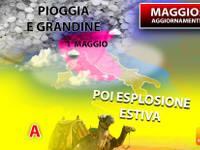 Meteo: PRIMO MAGGIO, altra FESTA a RISCHIO PIOGGIA, poi resto del MESE con ESPLOSIONE ESTIVA. Ecco perché