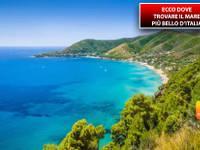 Meteo: VACANZE IMMINENTI? Ecco DOVE trovare il MARE più bello d'Italia e la CLASSIFICA delle REGIONI