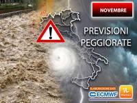 Meteo: NOVEMBRE SORPRENDENTE! Le PREVISIONI sono PEGGIORATE. ITALIA minacciata da un Serio PERICOLO. PROIEZIONI