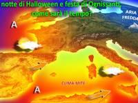 METEO » Halloween e Ognissanti, ecco la nostra previsione!