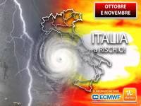 Meteo: OTTOBRE e NOVEMBRE, è confermato! Italia a RISCHIO per 2 RAGIONI. L'AGGIORNAMENTO è appena arrivato