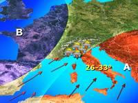 METEO: PASQUA AFRICANA, 1 aprile arriva ANTICICLONE HANNIBAL, oltre 30°C al Sud