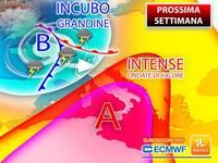Meteo: PROSSIMA SETTIMANA tra INTENSE ONDATE di CALORE, NOTTI TROPICALI e INCUBO GRANDINE. TENDENZA FINE GIUGNO