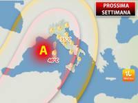 Meteo: Domenica e PROSSIMA SETTIMANA, il respiro bollente dell'Africa sull'Europa. Ecco gli Effetti in Italia