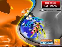 Meteo: PROSSIMA SETTIMANA, da Lunedì Pericoloso Ciclone carico di Nubifragi fino a Fine Ottobre. La Tendenza