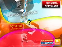 Meteo: PROSSIMA SETTIMANA, CAMBIA TUTTO, ci sono GROSSE NOVITA'. La TENDENZA degli Ultimi AGGIORNAMENTI