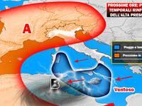 METEO PROSSIME ORE: Italia contesa, tempo ancora capriccioso. Ecco i temporali previsti