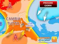 Meteo: PREVISIONE RIBALTATA! Da Mercoledì 22 CAMBIA TUTTO, gli AGGIORNAMENTI lo hanno appena CONFERMATO...