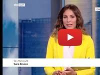 Meteo DIRETTA VIDEO SKY-Tg24: Sara Brusco, arriva il Super CALDO, nel fine Settimana 40°C. Le PREVISIONI